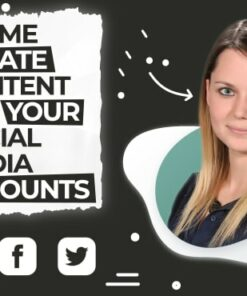 Social media content and posts creator