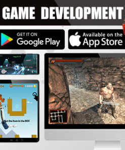 Develop professional Readymade money making games in unity 3D 2D for android ios web PC