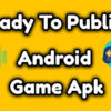 Ready to publish high-quality android game apk for sale